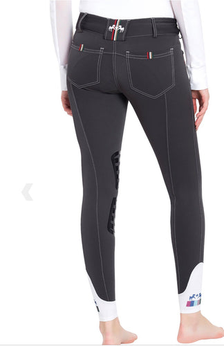 Equine Couture Charcoal Brinley Breeches