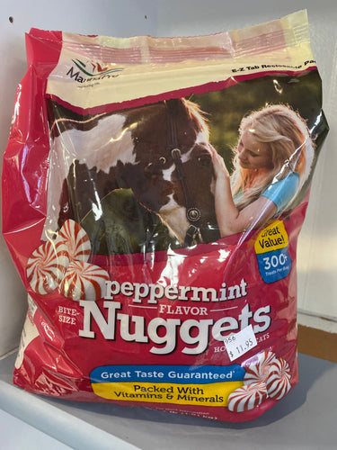 Bite Size Peppermint Nuggets