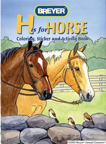 H is for Horse Coloring, Sticker & Activity Book