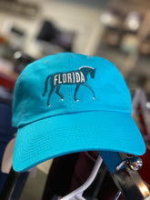Florida Horse Embroidered Black Ball Cap