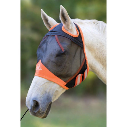 Shires Fine Mesh Fly Mask No Ears