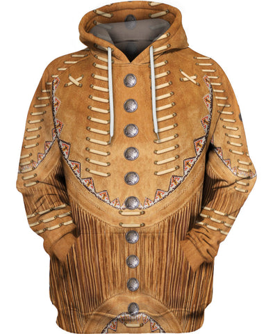 Brown Native Jacket Style