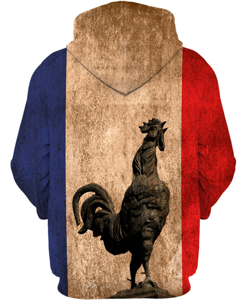 France Rooster Crows