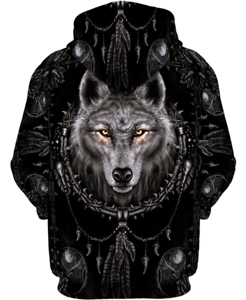 Mystery Wolf Black