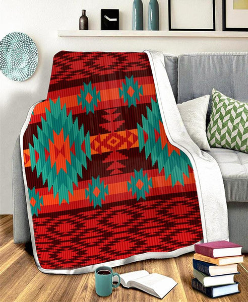 Pattern Fleece Blanket