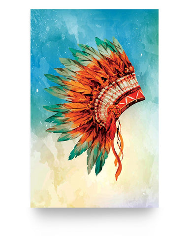 Orange Headdress