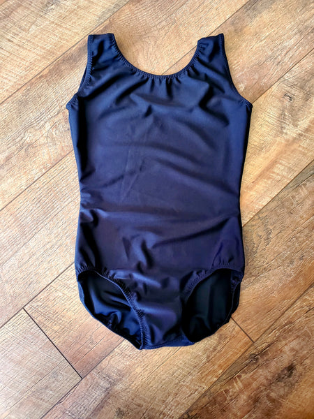 Adult Black Basic Tank Leotard