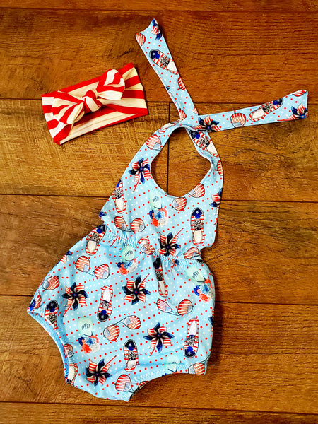 Patriotic Sunsuit