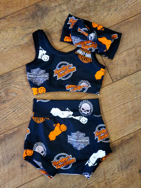 Biker Chick Baby & Toddler Set