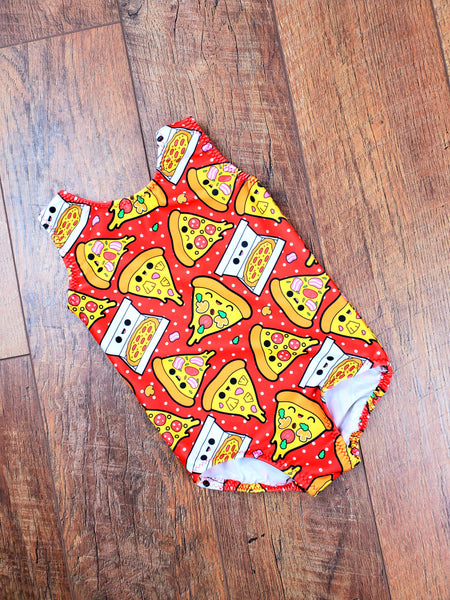 Kawaii Pizza Leotard