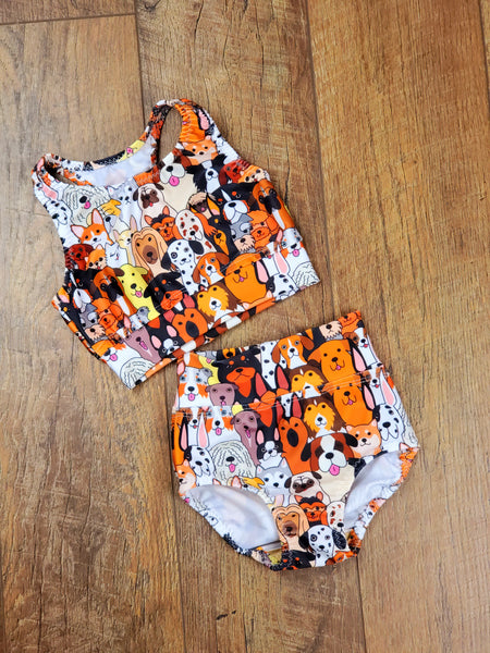 All Dogs Two Piece Set