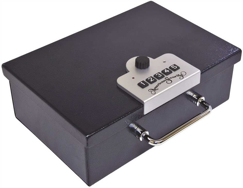 AMSEC HANDGUN SAFE WITH ELECTRONIC LOCK - Countryside Locks