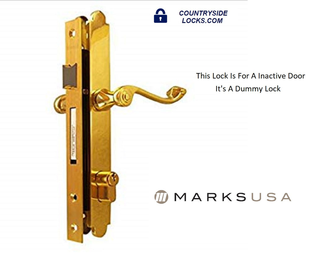 MARKS LOCK 2750DT SLIM LINE STORM/ DUMMY LOCK - Countryside Locks