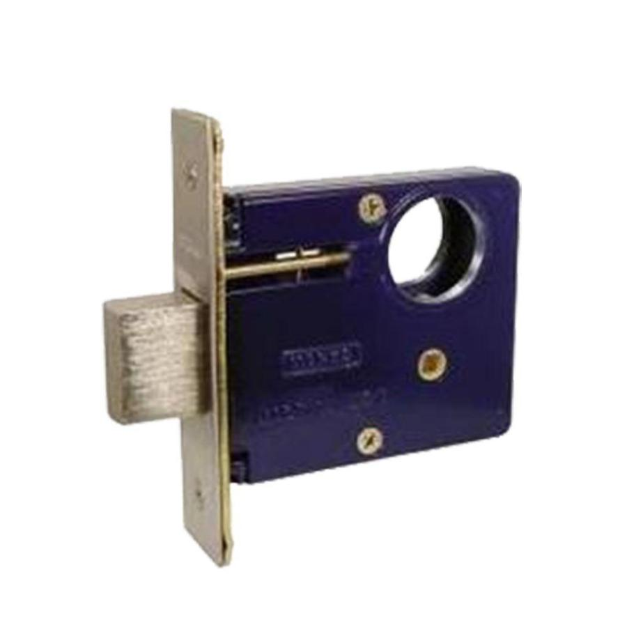 "Marks 2/3 Series 2 Mortise Armored Deadlock Body 2-1/2"" Backset - Countryside Locks"