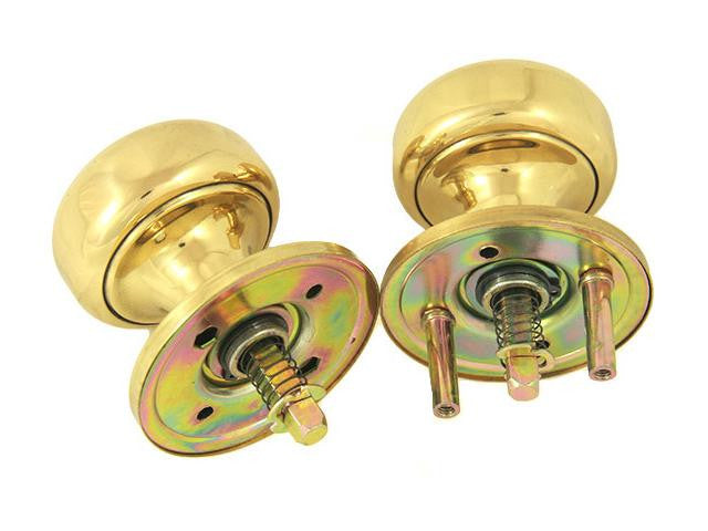 Marks Replacement For Marks 22AC Ornamental Iron Gate Door Mortise Int/Ext Solid Brass Knob/Rose Kit K22/3 - Countryside Locks