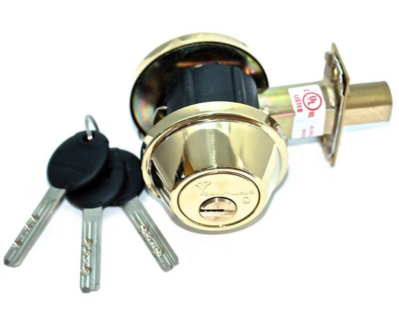 MUL-T-LOCK Junior Single Cylinder Deadbolt - Countryside Locks