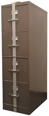 HPC Security Locking File Cabinet Bar 4 or 5 Drawer This Is A Lock For a File Cabinet - Countryside Locks