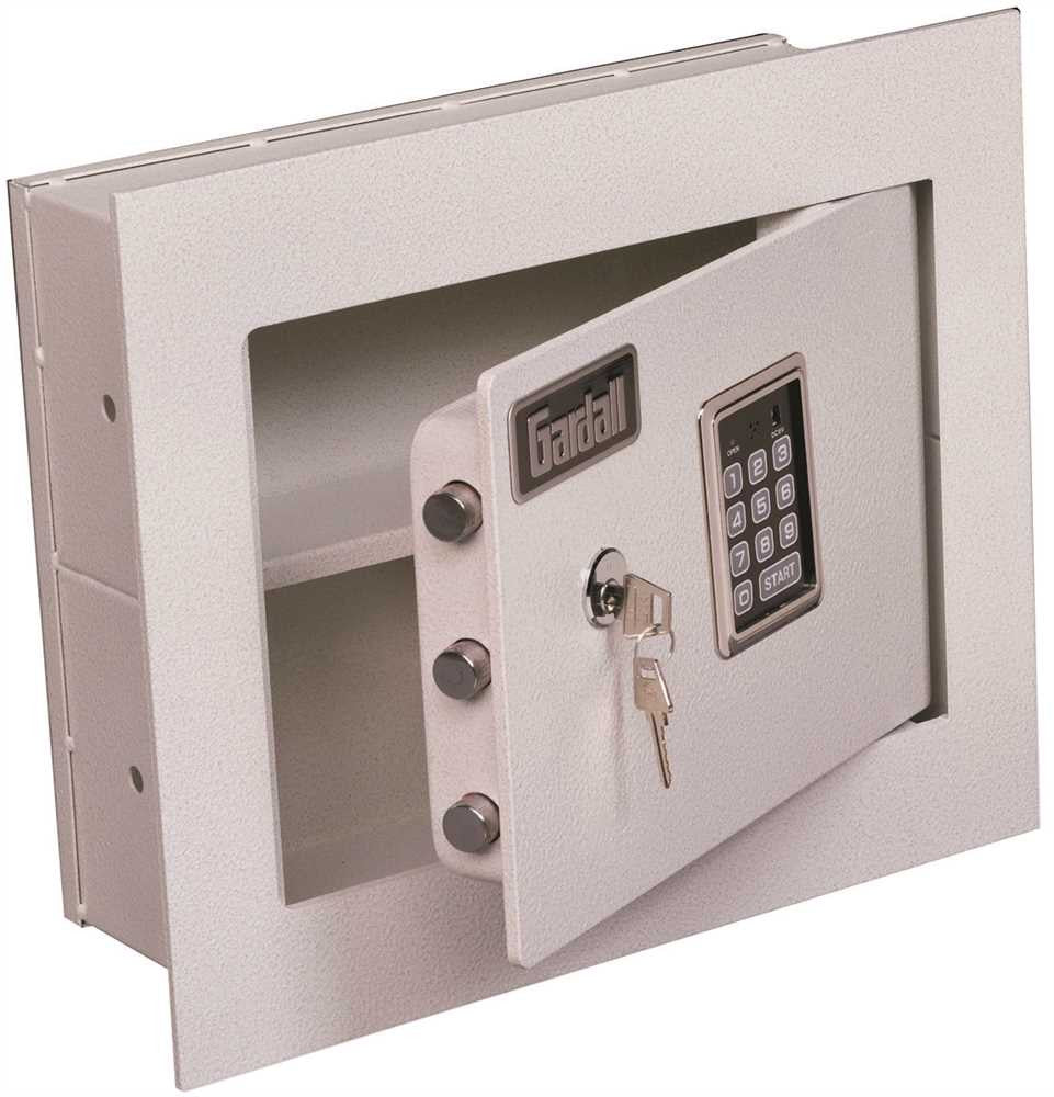 GARDALL CONCEALED WALL SAFE KEY AND ELECTRONIC LOCK - Countryside Locks