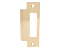 Tuff Stuff Mortise Strike Plate, 1-1/4