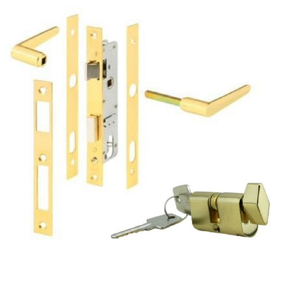 Papaiz Storm Door Lock Replacement - Countryside Locks