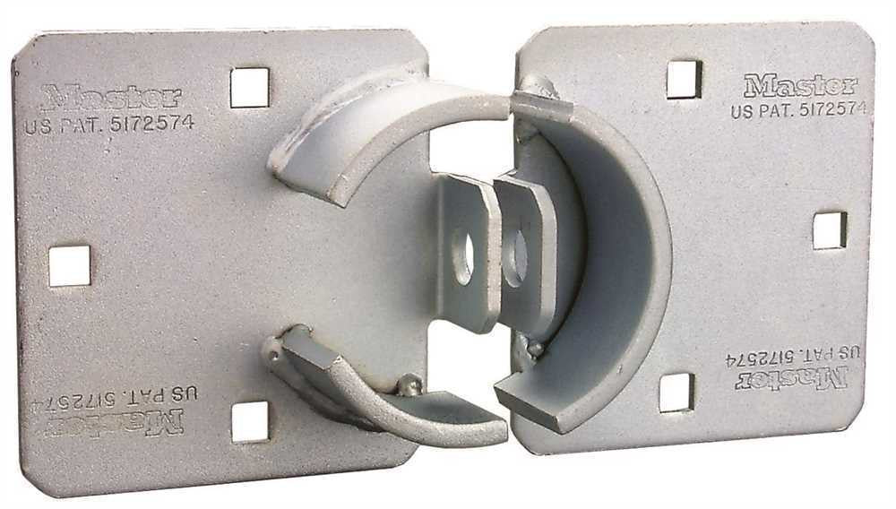 MASTER LOCK HASP FOR ROUND STEEL PADLOCK - Countryside Locks