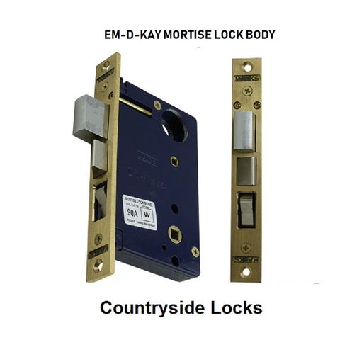 EM-D-KAY  Mortise Lock Body Fits Marks 22 AC Mortise Lock - Countryside Locks