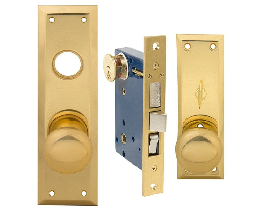 EM-D-Kay Mortise Entry Lockset This Lock Fits Marks 91A Mortise - Countryside Locks