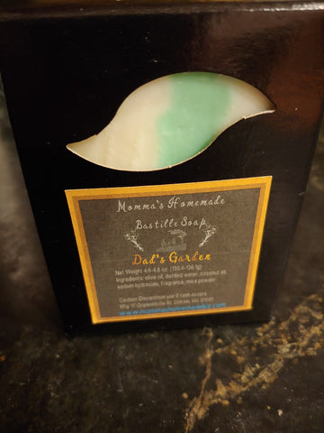 Bastille Soap - Dad's Garden