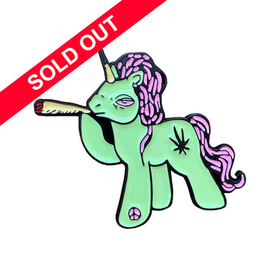 Melodie Perrault - High Little Pony Pin