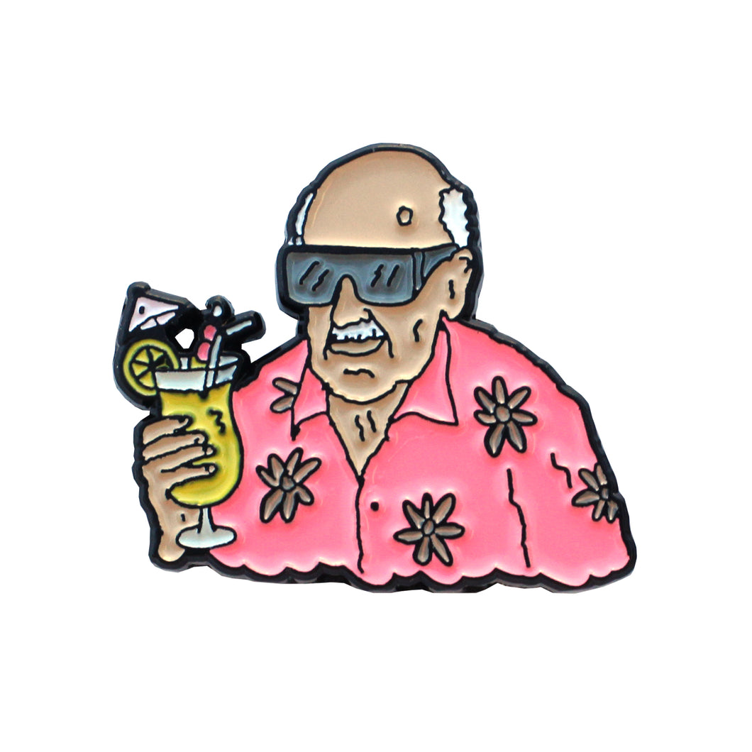 Brother Merle - Vacation Pin
