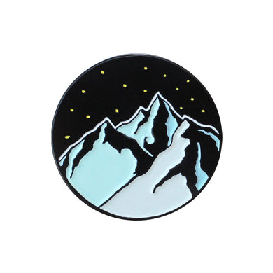 Midnight Sky Pin