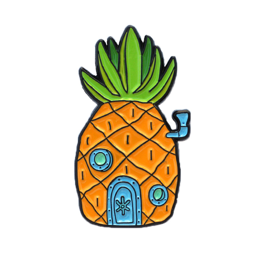 Pineapple House Pin