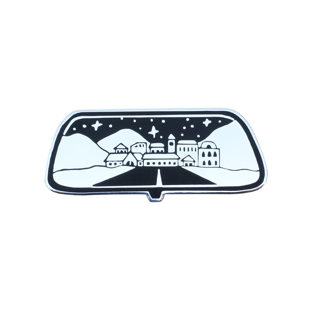 Rear View Pin