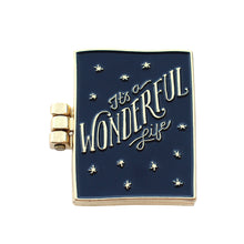 Wonderful Life Pin