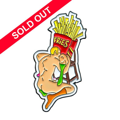Porous Walker - Fries Pin