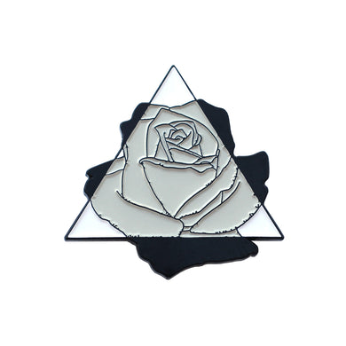 Clockwork Rose Pin