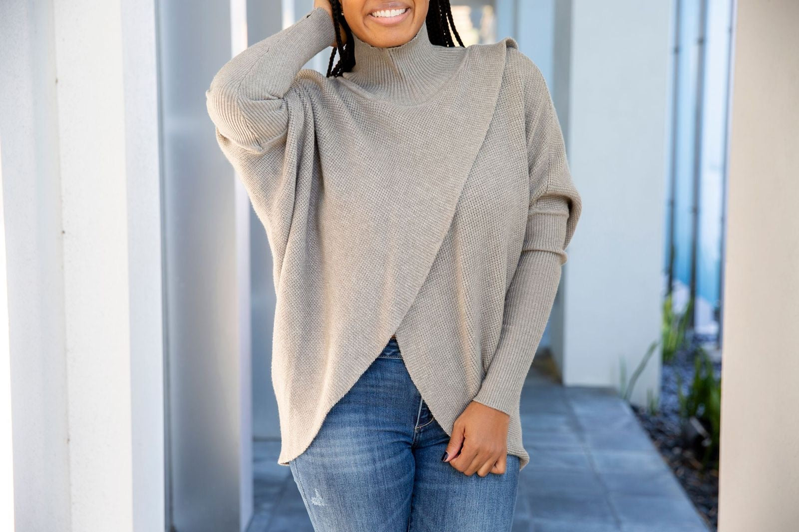 Gray Turtleneck | Sweater