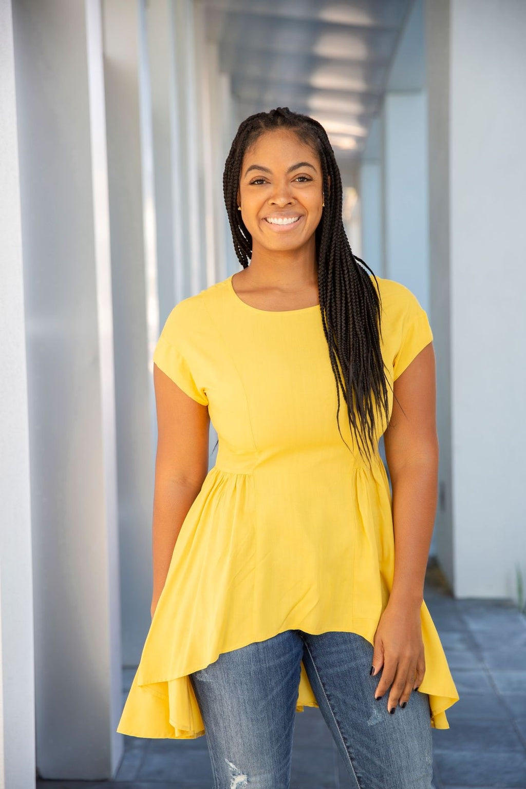 Dusty Delilah Mustard | Top