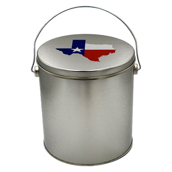 1 Gallon Texas Tin - Popcorn Friday
