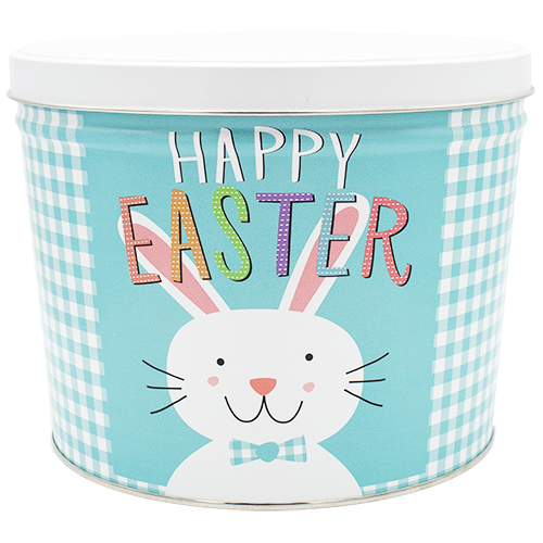 Popcorn Tin Happy Easter- 2 Gallon