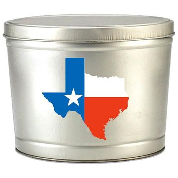 2 Gallon Texas Tin - Popcorn Friday