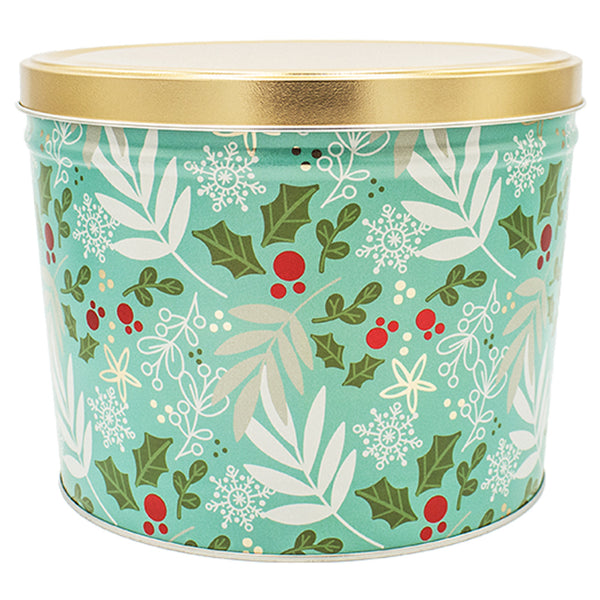 2 Gallon Winters Charm Tin - Popcorn Friday