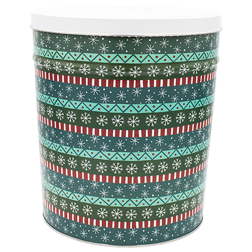Popcorn Tin Gift Wrap- 3.5 Gallon