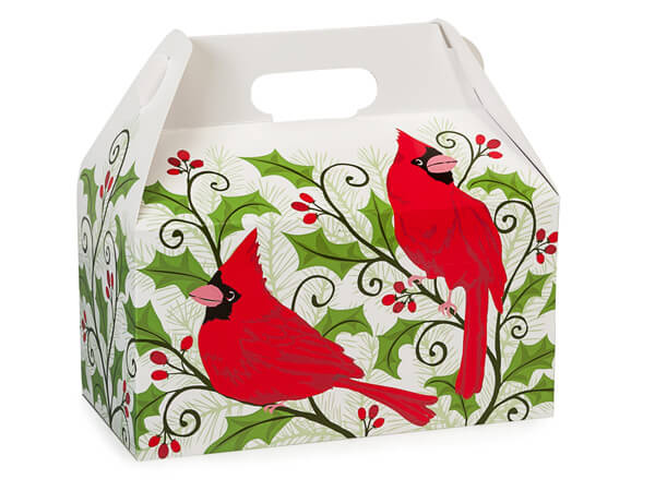 Holly Berry Cardinal - Popcorn Friday