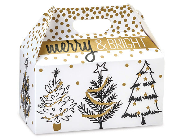 Golden Holiday Tree Box - Popcorn Friday