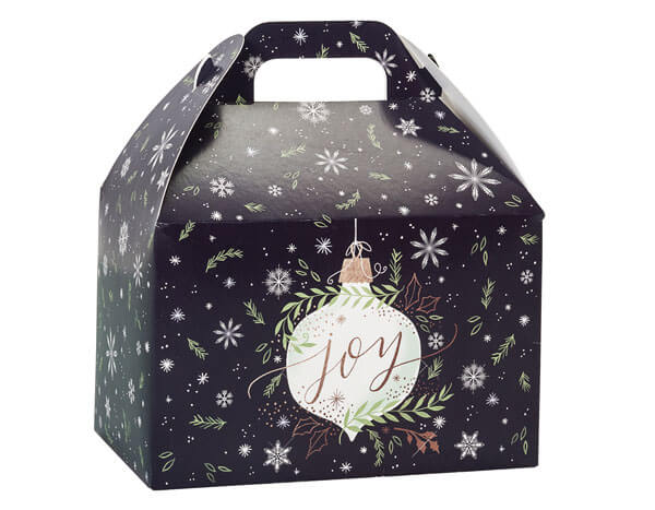 Popcorn Gift Box- Ornament Joy