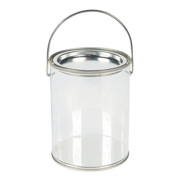 Popcorn Tin Clear - 1-Gallon