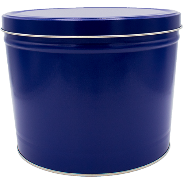 2 Gallon Blue Tin - Popcorn Friday