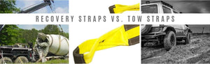 Recovery Strap vs Tow Straps
