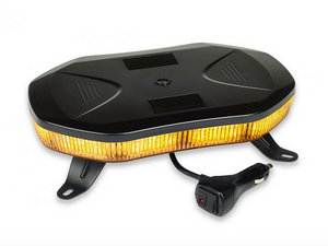 11″ LED Amber Mini Rooftop Light Bar from Custer Products available for sale at www.baremotion.com